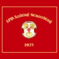 Sie ist der Stolz der Aubinger SPD - Die Fahne vom Juni 1983