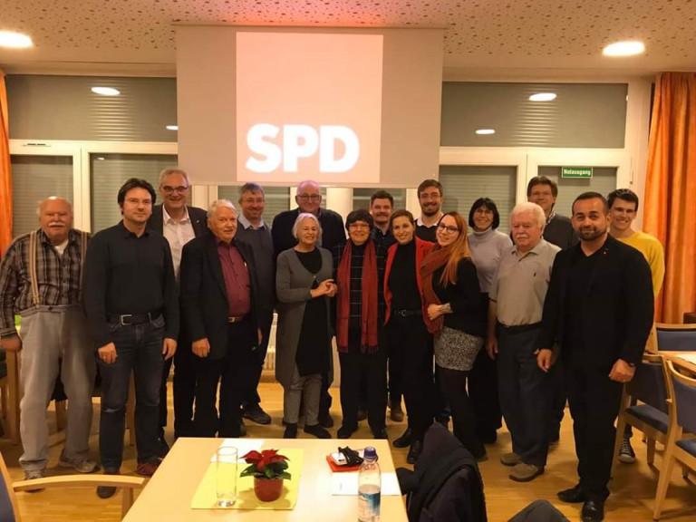 Unser Wahlkampfteam mit Unterstützern